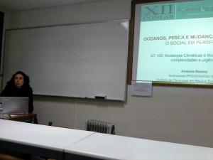 Andreza Martins no XII CONLAB