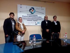 Adilson na Conferencia Euro-Latinoamericana