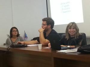 Caroline, Pedro e Julia