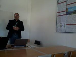 Dr. João Samarone em apresentação no CISTI'2015