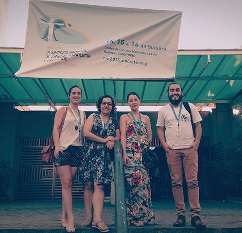 O IRIS representado no VI Simpósio Nacional Ciência Tecnologia e Sociedade, na Universidade Federal do Rio de Janeiro. Coordenação de GT sobre controvérsias científicas e apresentação de trabalhos. Parabéns para os participantes!